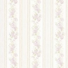 Delicate stripes of roses and a silken finish give the Mirage Tasha Satin Floral Scroll Stripe Wallpaper a romantic look. This removable wallpaper boasts. Wallpaper Samples, Vinyl Wallpaper, Home Wallpaper, Pattern Wallpaper, Striped Wallpaper Vintage, Vintage Style Wallpaper, Stripe Wallpaper, Silk Roses, Red Roses