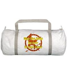 May the odds be ever in your favor Gym Bag