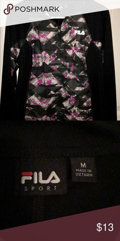 FILA Sport Quarter Zip Never worn! Light jacket, great for working out in colder weather. Fila Other