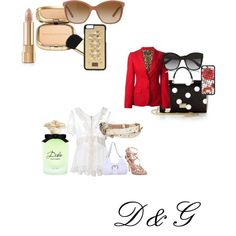 D&G by delphine-degraeve on Polyvore featuring schoonheid and Dolce&Gabbana