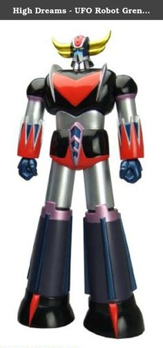 High Dreams - UFO Robot Grendizer Action Figure Classic Grendizer 23 cm. Behold the mighty Grendizer! Your favourite super robot is back with the classic paint scheme from the cult TV series 'UFO Robot Grendizer'. The highly detailed vinyl figure stands approx. 23 cm tall and comes in a collector-friendly window box.
