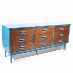 Fun Naples Blue Dresser