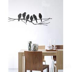 Lovebirds Muursticker - Ferm Living Lovebirds Muursticker - Ferm Living