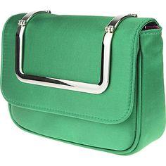 Nina Handbags Locklyn EVERGREEN - Nina Handbags Fabric Handbags