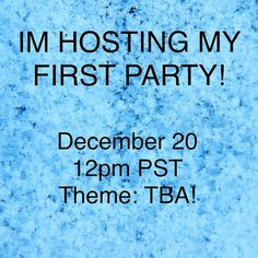 I'm so excited!!! Party 12/20! I AM CO-HOSTING A PARTY SUNDAY, DECEMBER 20 AT 12PM PST!!!!!!!! OMG!!!! Please share to spread the word!!                                 I will start looking for Host Picks once I know the theme! (Must be posh compliant. most of my picks will come from the comments/likes).                                      Please LIKE so I can let you know when the theme is announced!!!                                   My phone has been blowing up all day!! Thank you all…