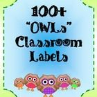 Just in time for Back to School! -This kit will provide you with over 100 classroom labels. The labels are printed on a vibrant owl graphic. Al...