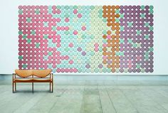 "Fashionably Patterned Acoustic Panels : ""acoustic panels"""