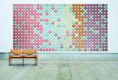 "Fashionably Patterned Acoustic Panels : ""acoustic panels"""