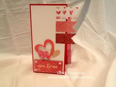 Valentine's Day Card made using Creative Memories Watercolor love product.