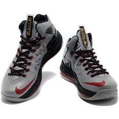 http://www.asneakers4u.com/ Nike LeBron 10 P.S. Elite Grey