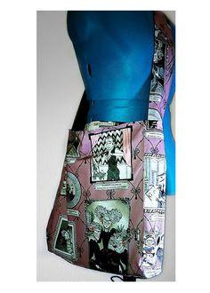 Ghastlies reversible slouch bag  $45  seth@houseofsandol.com Copyright ©2011-14 HOUSE OF SANDOL