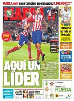 LIGA 2013-2014. Llegamos a las navidades de 2013 como colíderes de primera, empatados a puntos con el Barça y a 5 puntos del Madrid.