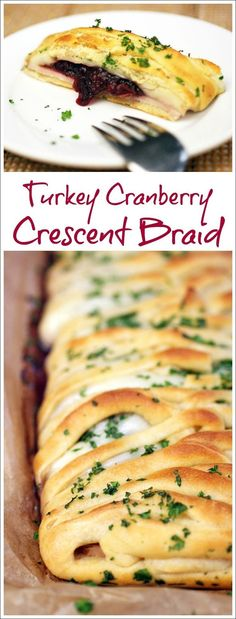 Not only is this Turkey Cranberry Crescent Braid recipe a terrific party appetizer, it's a thrifty way to use up holiday dinner leftovers. Get this easy to make crescent dough recipe at This Mama Cooks! On a Diet #ad #warmtraditions
