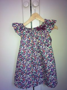 Petite robe en Liberty Betsy