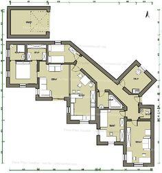 House floor plan draft 1