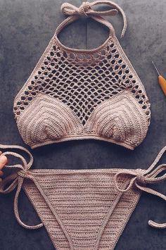 Best Free Crochet Bikini Patterns 2019 – Page 10 of 46 – womenselegance. com Best Free Crochet Bikini Patterns 2019 – Page 10 of 46 – womenselegance. Motif Bikini Crochet, Bikinis Crochet, Crochet Bra, Crochet Halter Tops, Crochet Clothes, Doilies Crochet, Crochet Shorts, Crochet Vintage, Crochet Simple