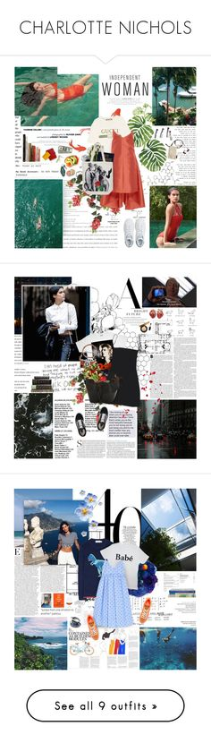 """""""CHARLOTTE NICHOLS"""" by spacelava ❤ liked on Polyvore featuring pic, pictures, square, F, Rainforest, Gucci, Maria Lucia Hohan, adidas, Assouline Publishing and Urban Outfitters"""
