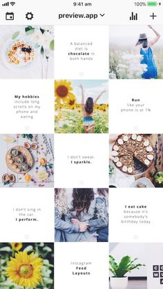 Discover recipes, home ideas, style inspiration and other ideas to try. Frases Instagram, Feeds Instagram, Instagram Grid, Instagram Posts, Instagram Design, Instagram Feed Theme Layout, Instagram Layouts, Poster Designs, Layout Design