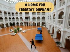 A former president of Russia\'s largest gold producer opened the orphanage using his own money and covers all expenses.