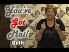 You've Got Mail - Layer Cake Friendly Quilt Project Jenny Doan tutorial Jenny Doan Tutorials, Msqc Tutorials, Quilting Tutorials, Quilting Tips, Quilting Projects, Sewing Projects, Layer Cake Quilts, Layer Cakes, Missouri Quilt Tutorials