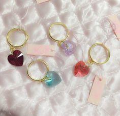 heart swarovski ring