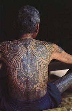 B-6546. Shan/Tai Yai Tattoo Book. Burma