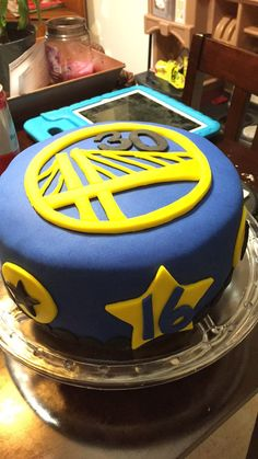 Golden State Warriors Stephen Curry Cake