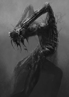 """Calcified"" Misshapen backbones - Taken root in agony - Petrified action - Haiku by: Dawn Serene 