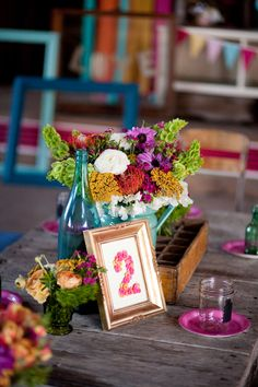 Colorful, Eclectic 2nd Birthday Party - On to Baby