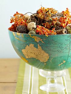 Best Recycled Crafts | How To Make A Potpourri Table Centerpiece By DIY Ready. http://diyready.com/trash-to-treasure-17-recycled-arts-crafts-projects/