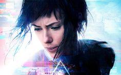 Movie Ghost In The Shell (2017)  Scarlett Johansson Wallpaper
