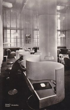 Hotelli Aulanko, Hämeenlinna, Märta Blomstedt/Matti Lampén, 1937-38