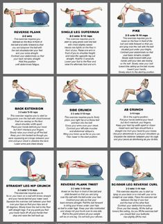 ball exercises 1 ball workoutStability ball exercises 1 ball workout Exercise ball-don't forget to use this! Exercise ball +++For guide + advice on and visit Loss weight Fitness Workouts, Fitness Motivation, Pilates Workout, Yoga Fitness, At Home Workouts, Fitness Ball Exercises, Core Pilates, Yoga Ball Workouts, Exercise At Home