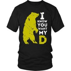 I know you want my BearD T-shirt
