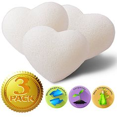 Konjac Sponge (3 Pack) - Natural Baby Bath Sponges for Babies and Sensitive Skin - Non-toxic & Safe The Beauty Shelf http://www.amazon.com/dp/B00PCJGF0I/ref=cm_sw_r_pi_dp_u0afvb1KX4Z1X
