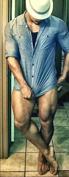 Sander...those tight ass legs can hold me down anytime!!!!!