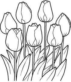 Free Printable Coloring Pages Of Spring Flowers Garden Coloring Pages, Spring Coloring Pages, Coloring Pages To Print, Coloring Pages For Kids, Coloring Books, Adult Coloring, Flower Coloring Sheets, Printable Flower Coloring Pages, Colouring Sheets