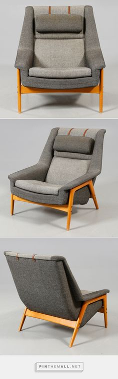 """Profil"", Folke Ohlsson, Dux, Ljungs Industrier A. Contemporary Chairs, Modern Chairs, Contemporary Design, Cool Furniture, Modern Furniture, Furniture Design, Furniture Inspiration, Design Inspiration, Chair Design"