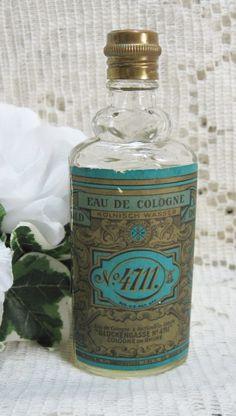 German No 4711   eau de cologne (Oma's favourite)