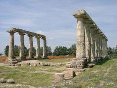 Metaponto, Basilicata, Italy, province of Matera.