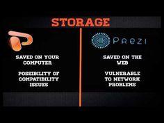 A straightforward comparison of #Prezi vs PowerPoint via Pepperdine Techlearn YouTube