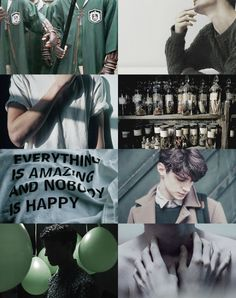 Slytherin aesthetic aka why my house is the best