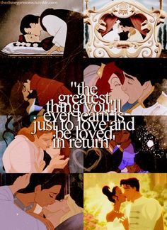 The Disney princes-fictional men at their absolute best!!!
