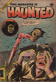 Comic Book Cover For This Magazine Is Haunted v3 #15
