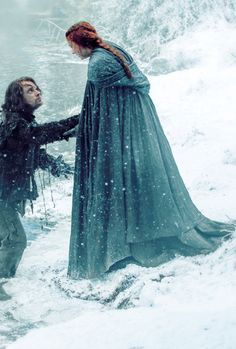 stormbornvalkyrie:    ♕ Theon & Sansa in Game of Thrones S6 ©
