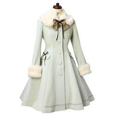 Coat Dress, The Dress, Frock Coat, Lolita Mode, Mode Mantel, Dress Outfits, Fashion Outfits, Fashion Coat, Cheap Fashion
