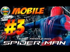 The Amazing Spider Man Mobile Parte #3 Java Game Touch