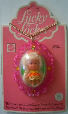VINTAGE Lucky Locket. I'd rock the one I use to have, if I still had it.