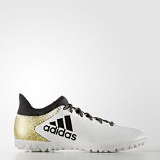 cheap for discount 280f4 f00d4 adidas - X Turf Shoes Running White Ftw   Core Black   Gold Metallic