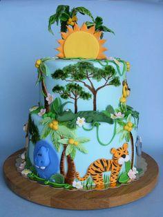 "https://flic.kr/p/9LUQuU | Jungle cake | Happy 9th Bday, Viara! Историята на <a href=""http://bubolinkata.blogspot.com/2011/05/blog-post_25.html"" rel=""nofollow"">bubolinkata.blogspot.com/2011/05/blog-post_25.html</a>"